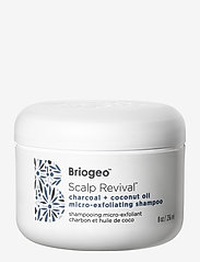 Briogeo - Charcoal + Coconut Oil Micro-exfoliating Shampoo - behandling - clear - 0