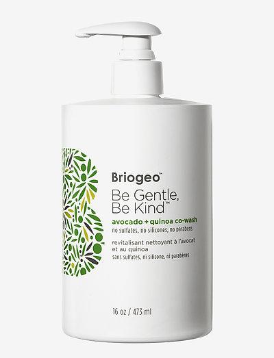 Avocado + Quinoa Co–Wash - shampoo - clear
