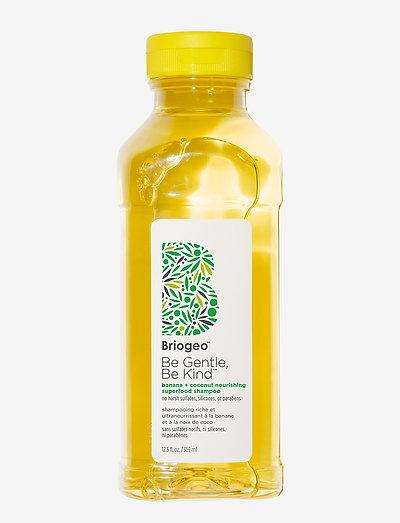 Banana + Coconut Nourishing Superfood Shampoo - shampoo - clear