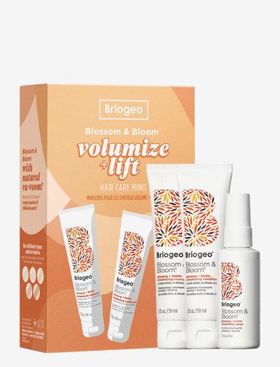 Briogeo Blossom & Bloom™ Volumize + Thicken Hair Care Minis - hårvårdsset - clear