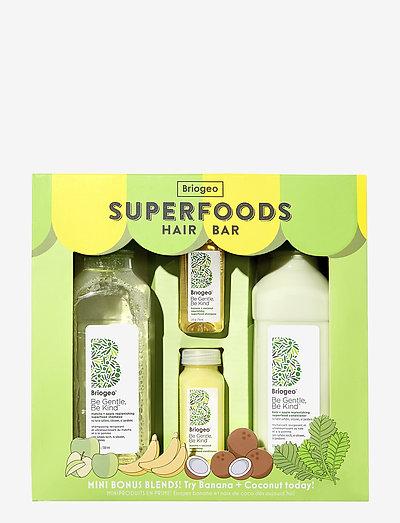 Briogeo Superfoods Hair Bar - hårsæt - clear