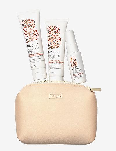 Briogeo Blossom & Bloom™ Volumizing Travel Kit - hårsæt - clear