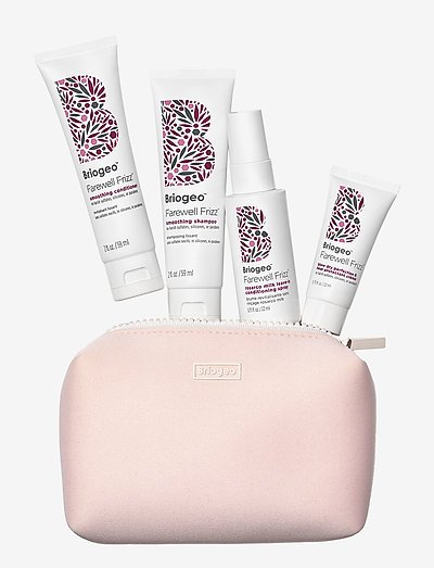Briogeo Farewell Frizz™ Frizz Control Travel Kit - kroppsvårdsset - clear