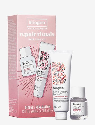 Briogeo Don't Despair, Repair!™ Repair Rituals Hair Care Kit - presentaskar - clear