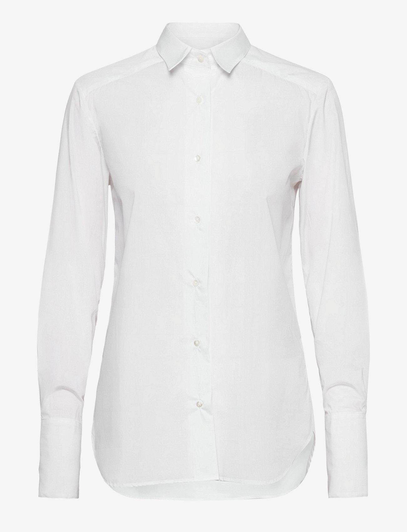 Britt Sisseck - Bianca shirt - chemises à manches longues - white - 1