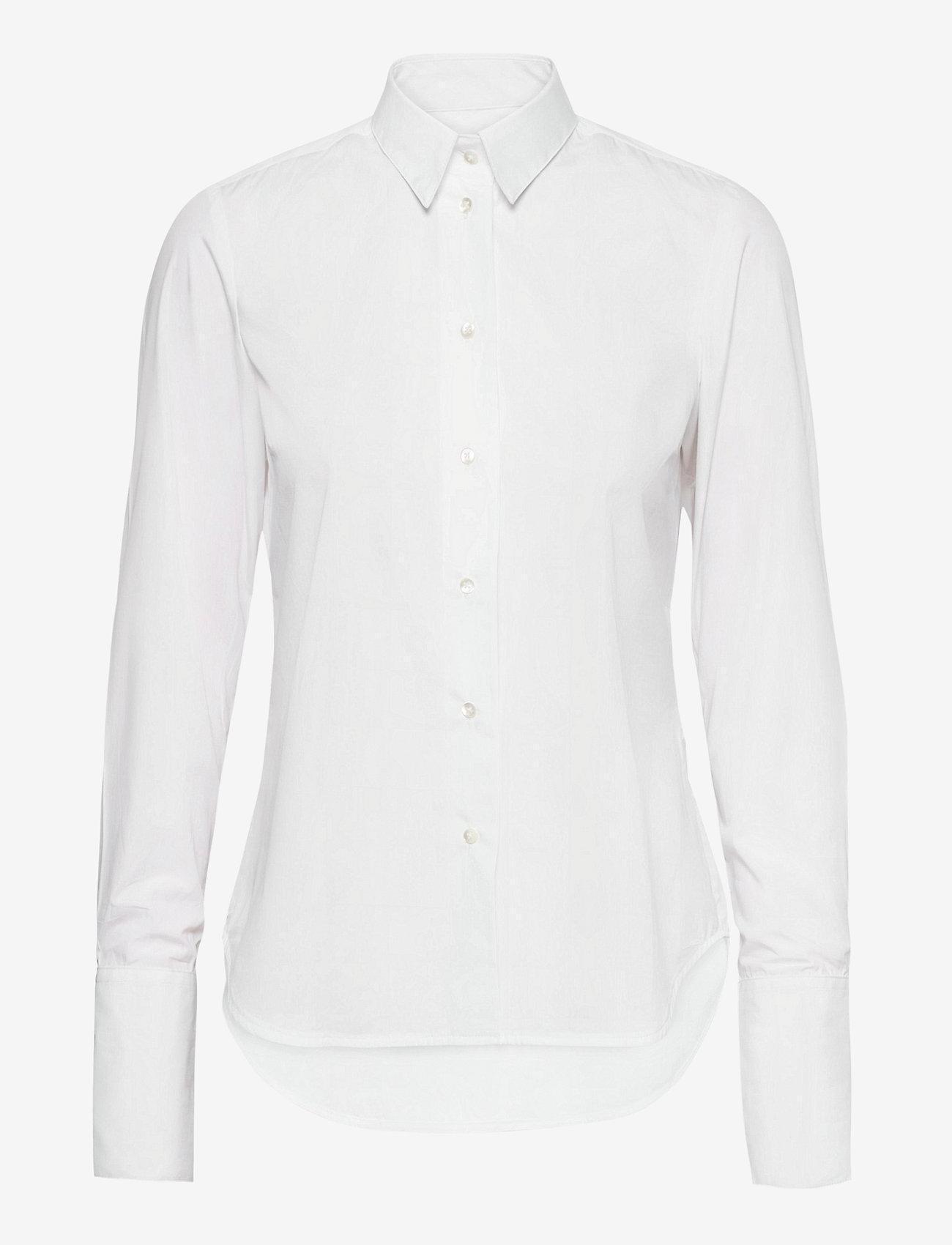 Britt Sisseck - Cecilie shirt - chemises à manches longues - white - 0