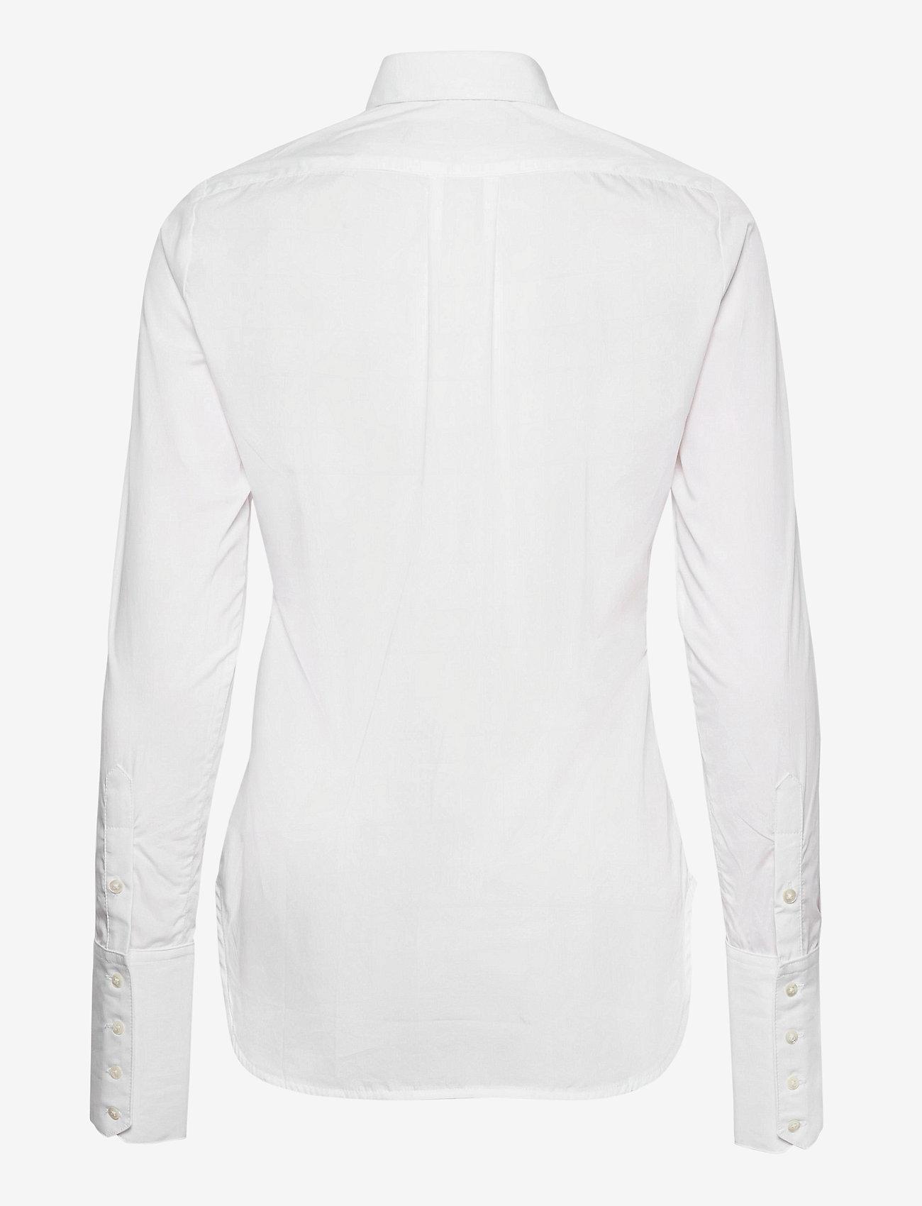 Britt Sisseck - Cecilie shirt - chemises à manches longues - white - 1