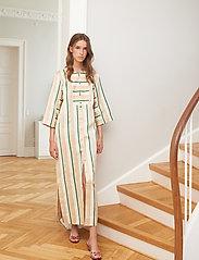 Britt Sisseck - Belle - maxi dresses - retro stripe - 0
