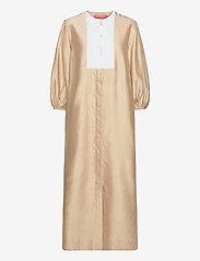 Britt Sisseck - Sofia - maxi dresses - brown sugar - 1
