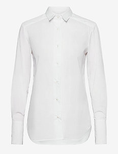 Bianca shirt - chemises à manches longues - white