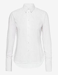Cecilie - chemises à manches longues - white