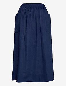 Lip skirt - jupes midi - indigo