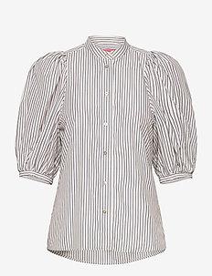 Dalia shirt - blouses à manches courtes - pre stripe