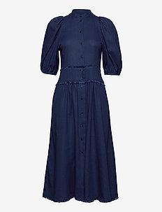 Dalial dress - robes midi - indigo