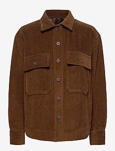 Pipi jacket - overshirts - coffee corduroy