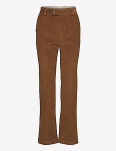 Kune pants - pantalons - coffee corduroy
