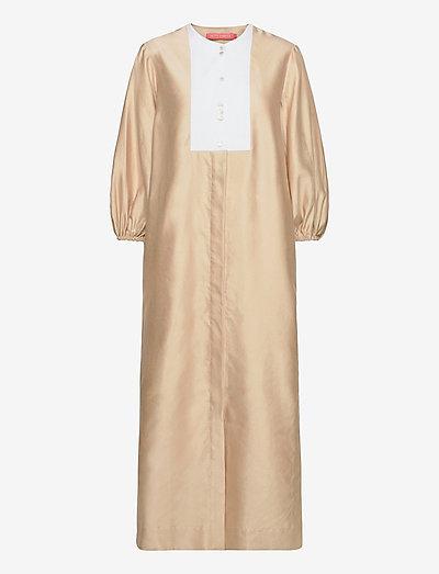 Sofia - maxi dresses - brown sugar