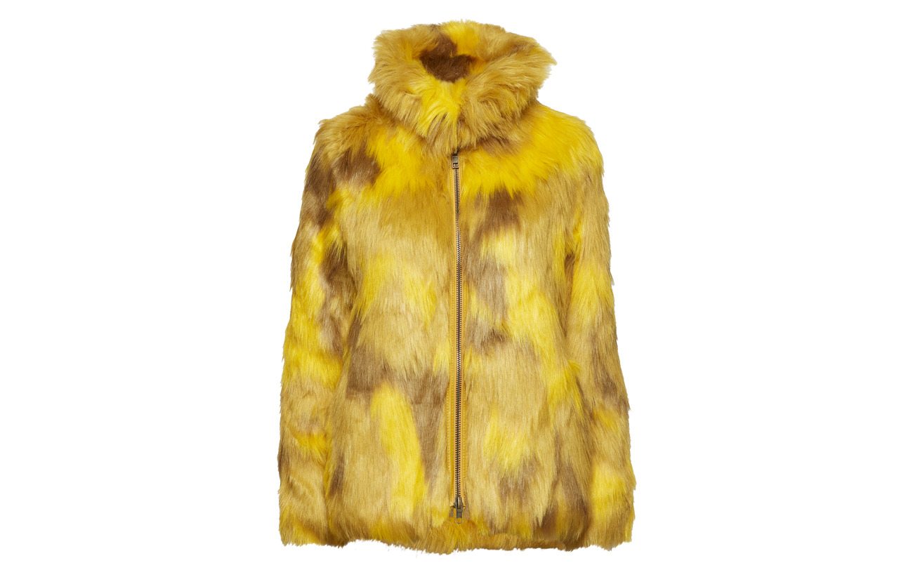 50 Cheetah Acrylique Intérieure Trish Doublure Yellow Textiles Équipement Polyester 100 Brixtol Modacrylic ZqpzwUEx
