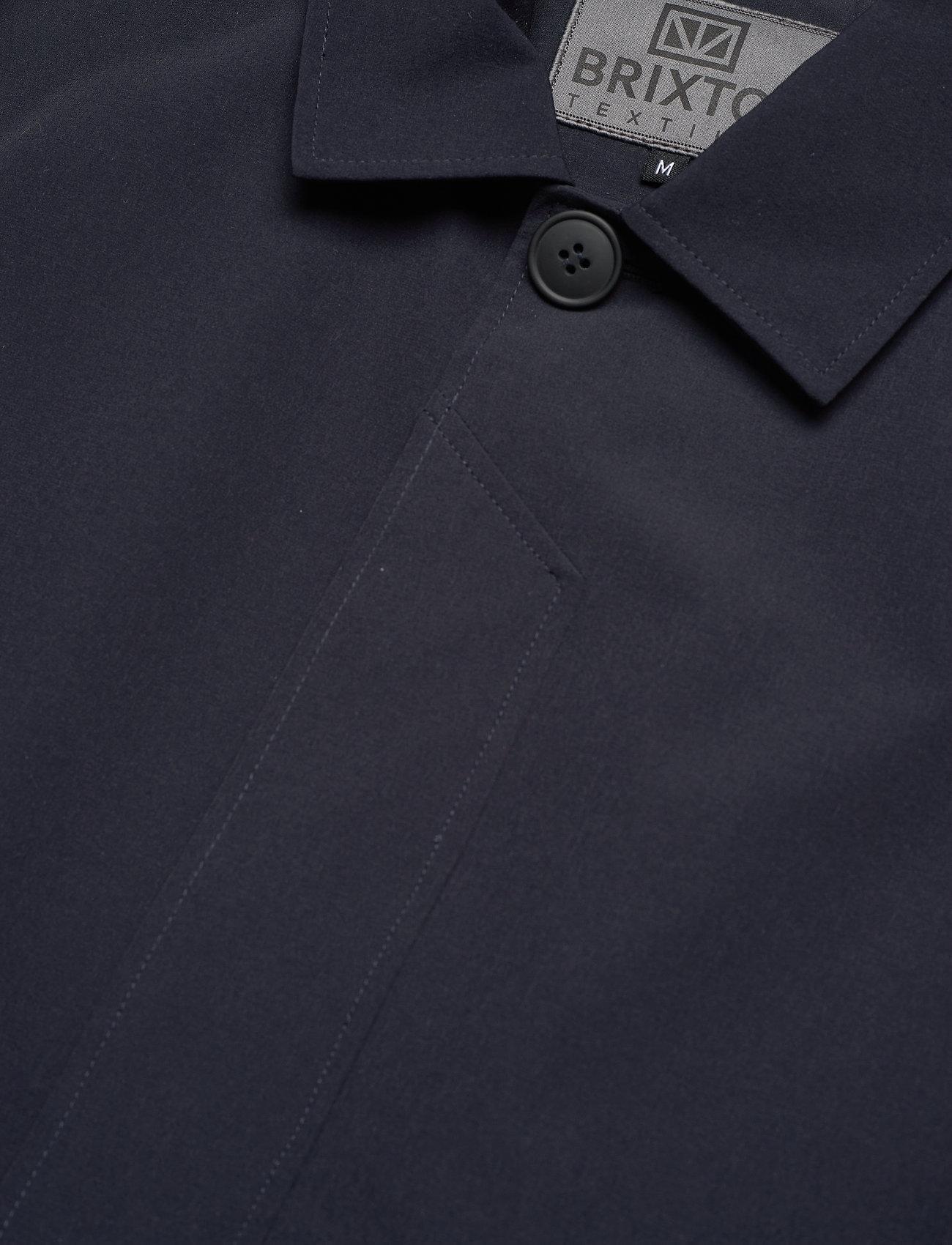 Brixtol Textiles - T-Coat Stretch - cienkie płaszcze - carbon navy - 6