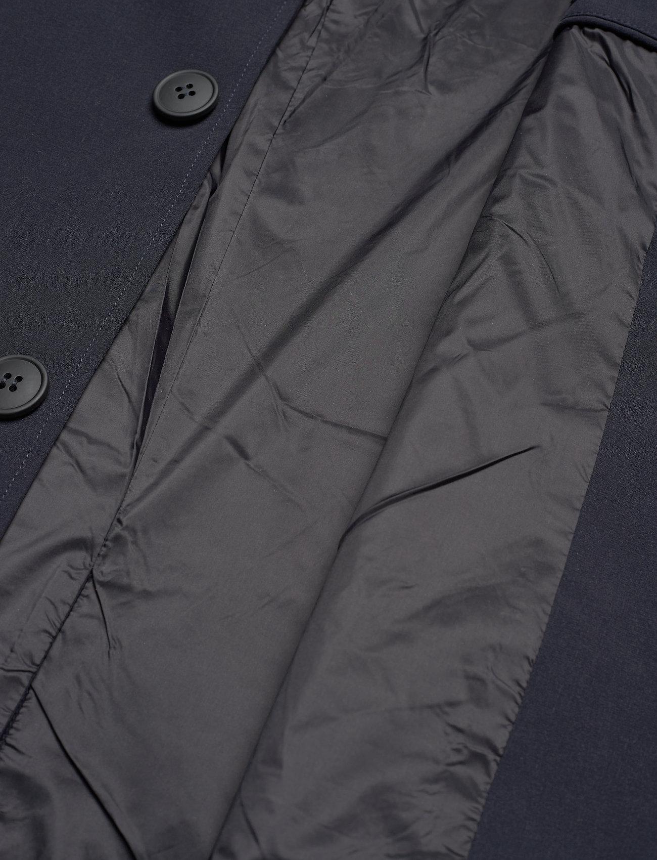 Brixtol Textiles - T-Coat Stretch - cienkie płaszcze - carbon navy - 8