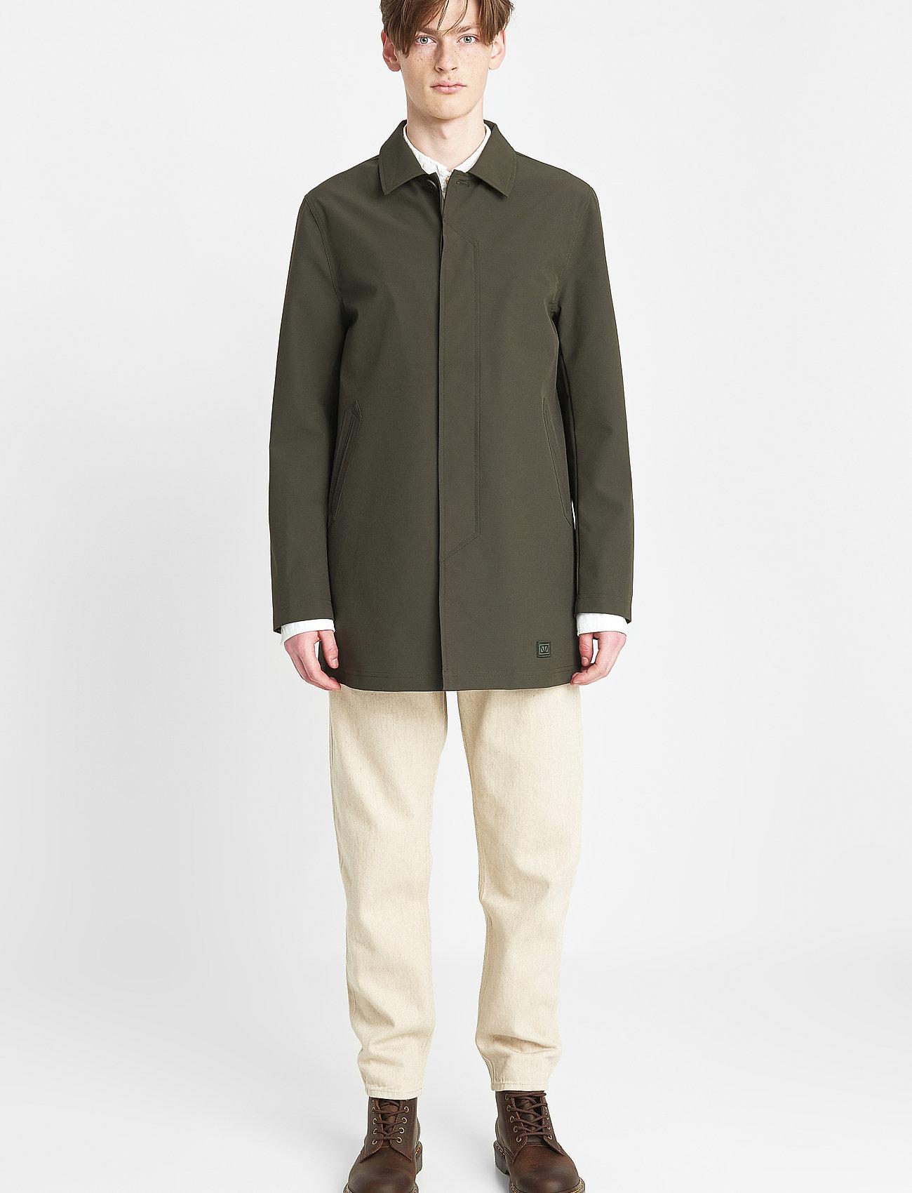 Brixtol Textiles - T-Coat Stretch - dunne mantels - olive - 0