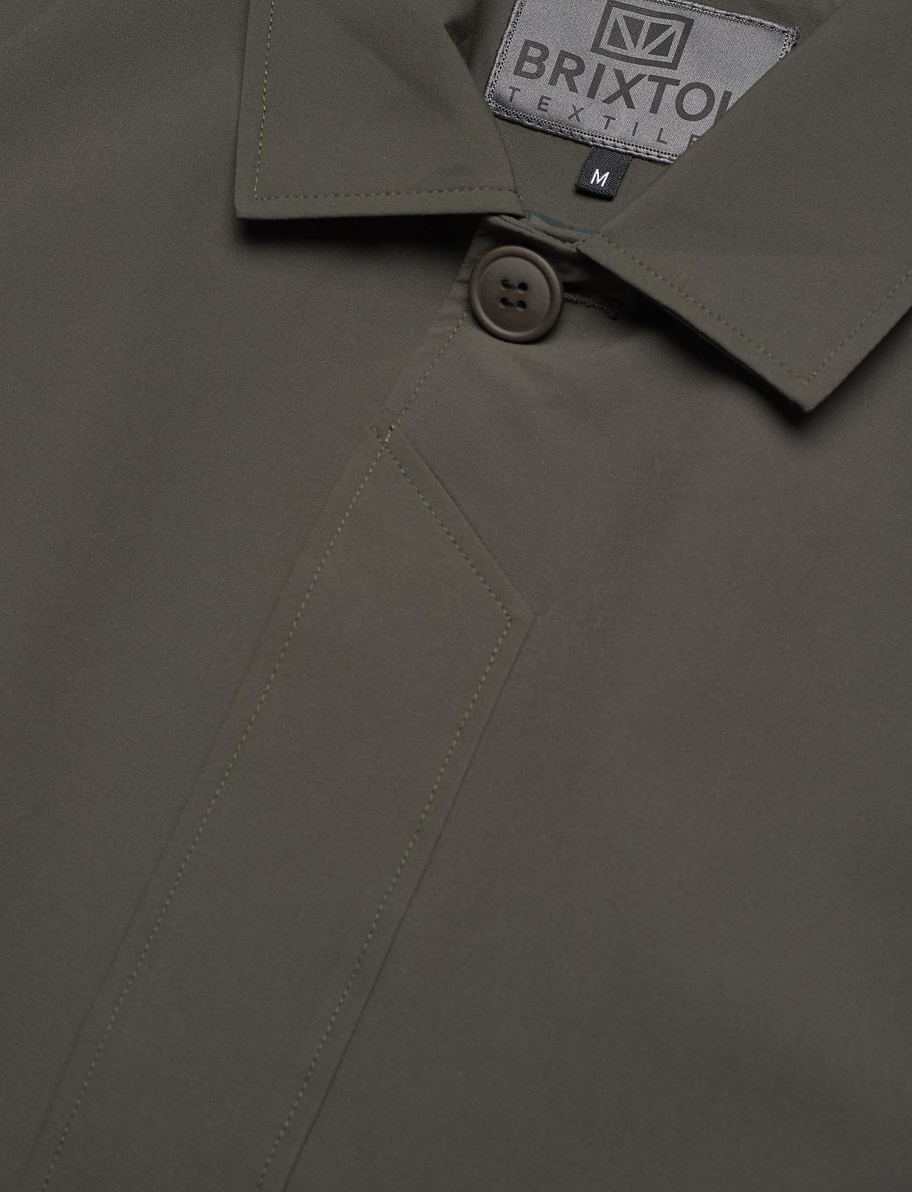 Brixtol Textiles - T-Coat Stretch - cienkie płaszcze - olive - 6