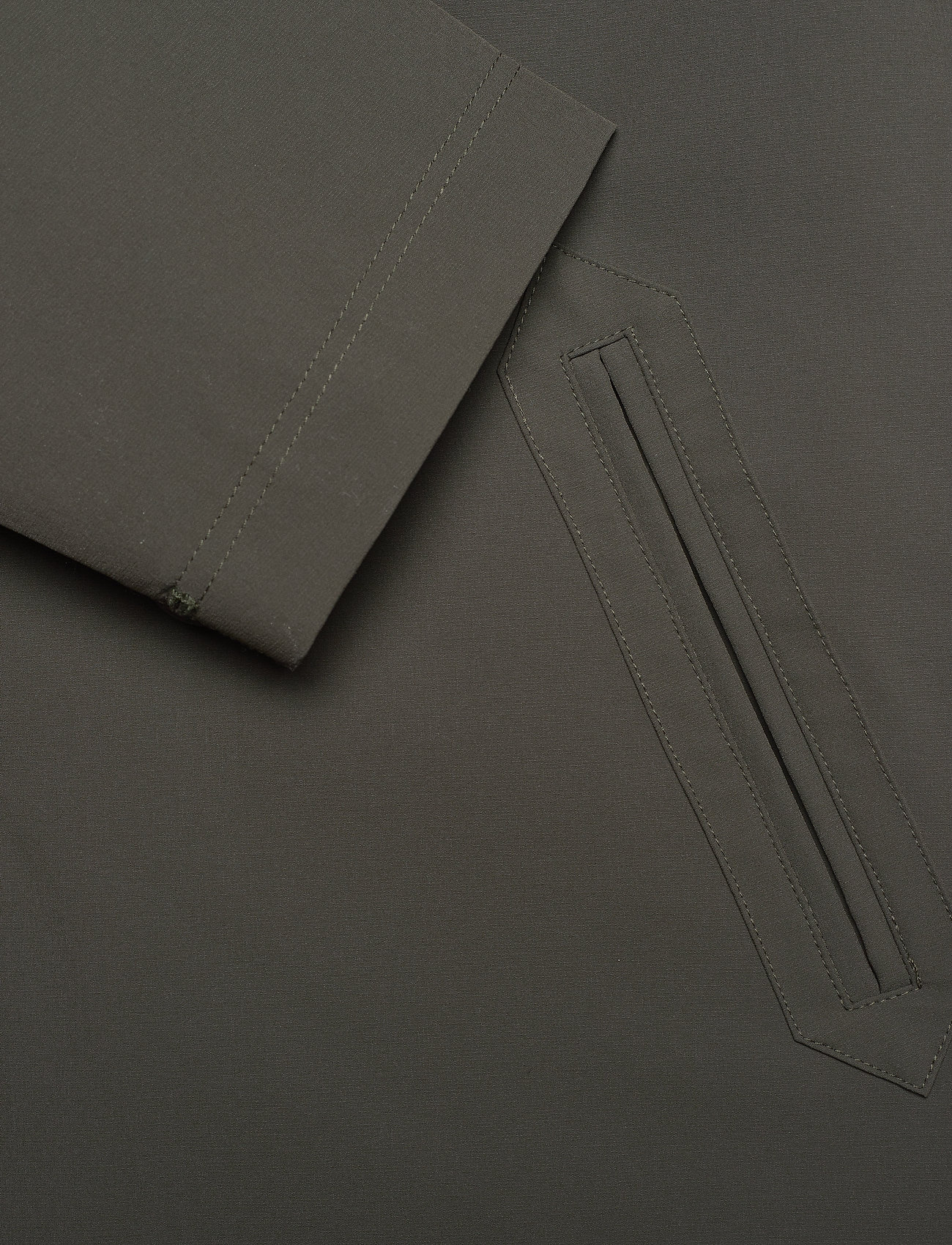 Brixtol Textiles - T-Coat Stretch - cienkie płaszcze - olive - 7