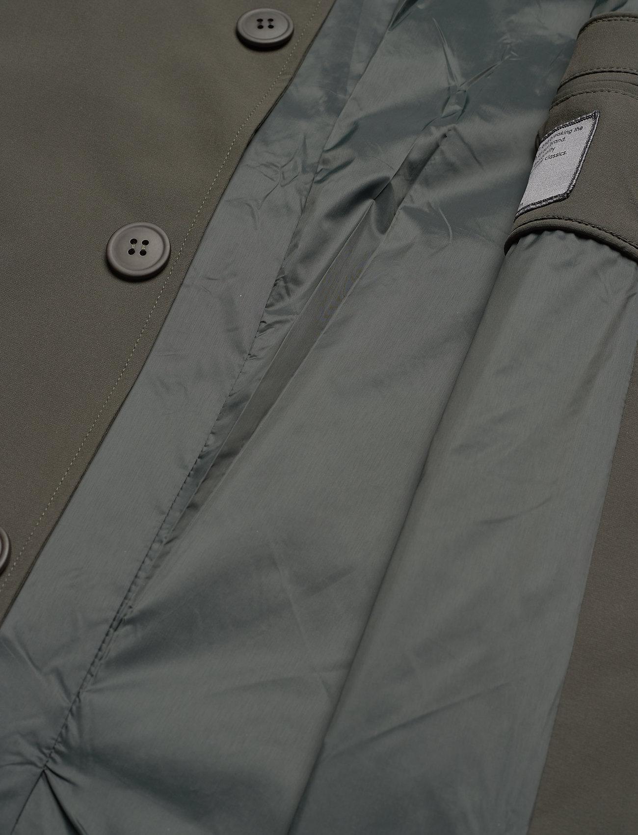 Brixtol Textiles - T-Coat Stretch - cienkie płaszcze - olive - 8