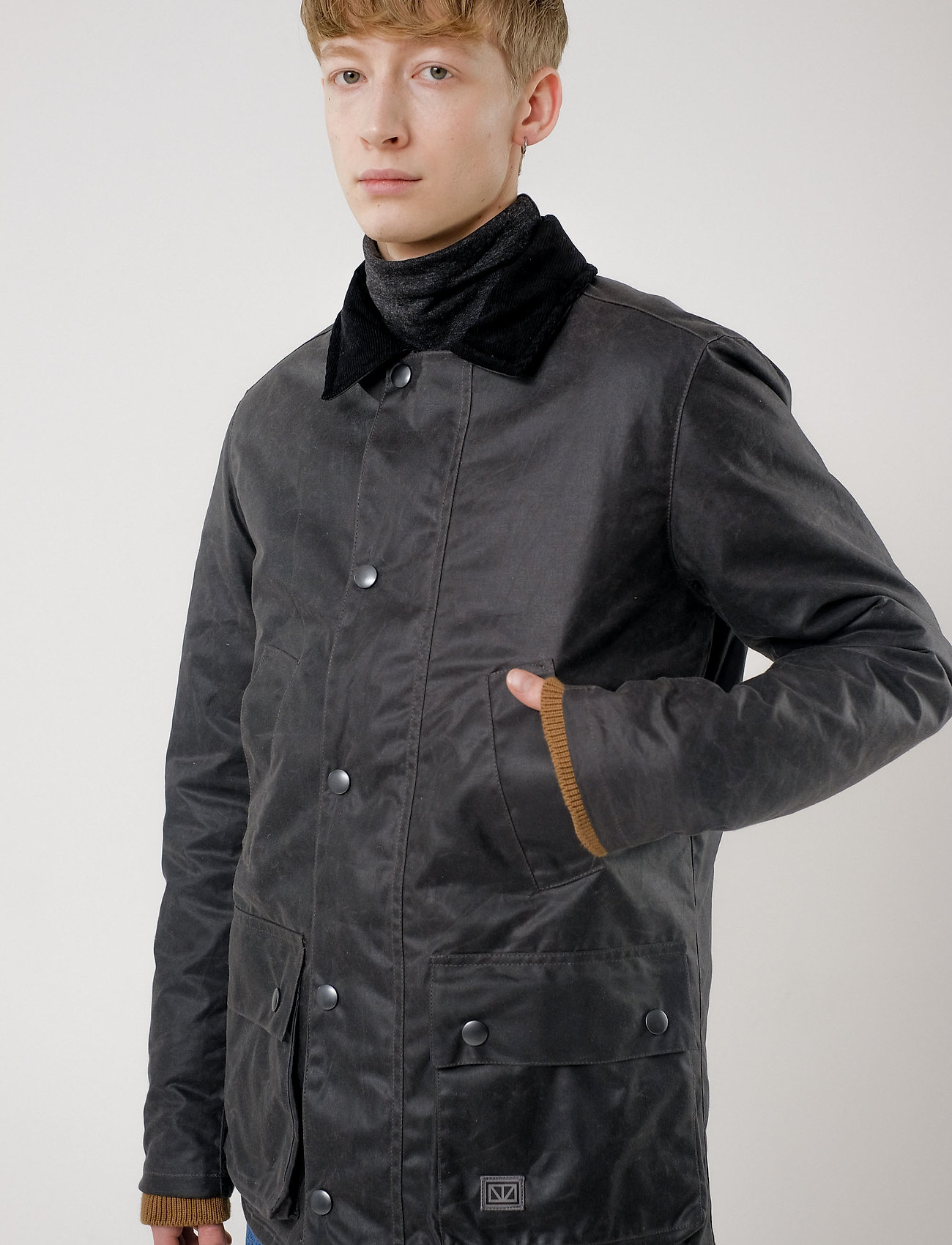 Brixtol Textiles - Curtis - fôrede jakker - grey - 0