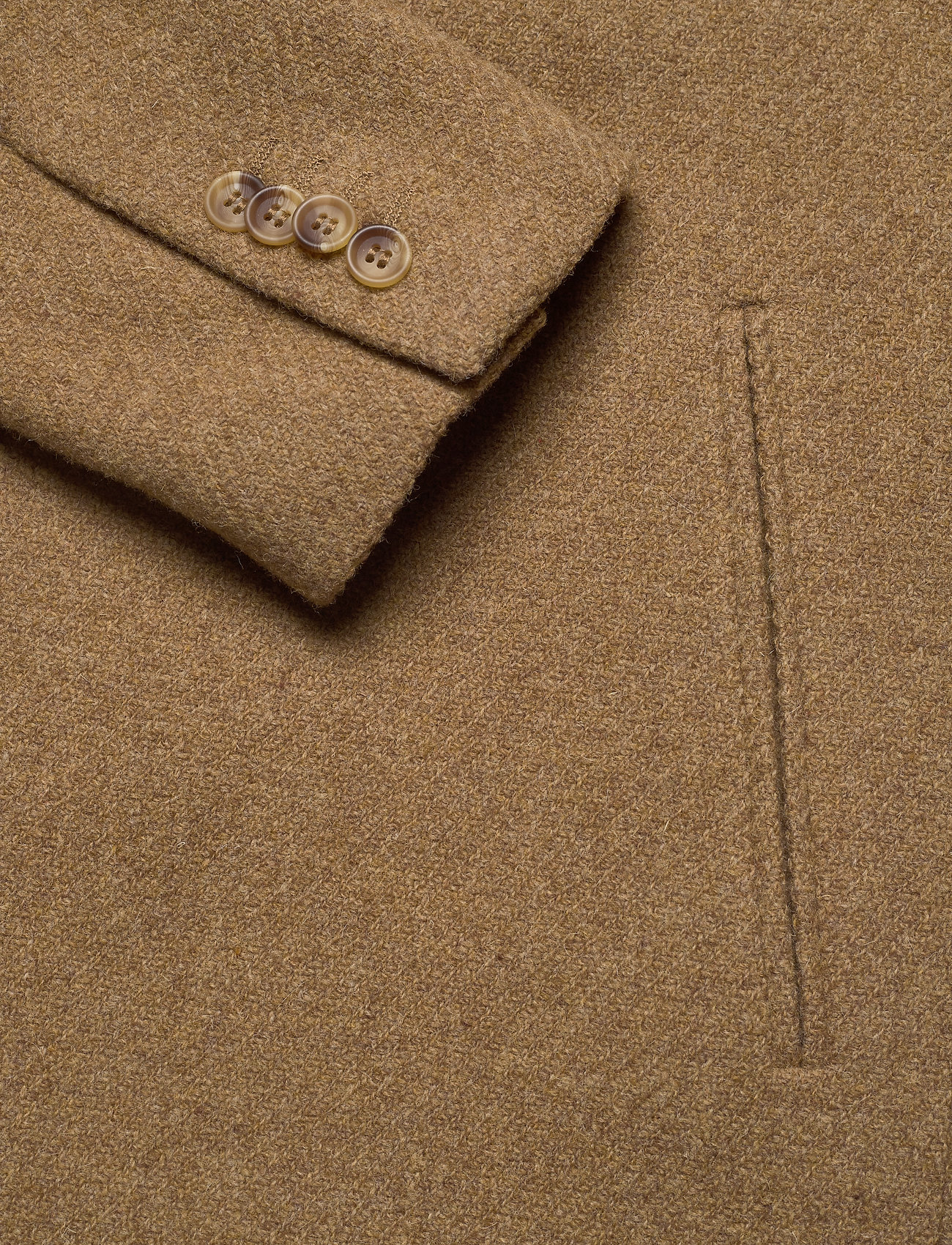 Brixtol Textiles Ian - Jakker og frakker DARK CAMEL - Menn Klær