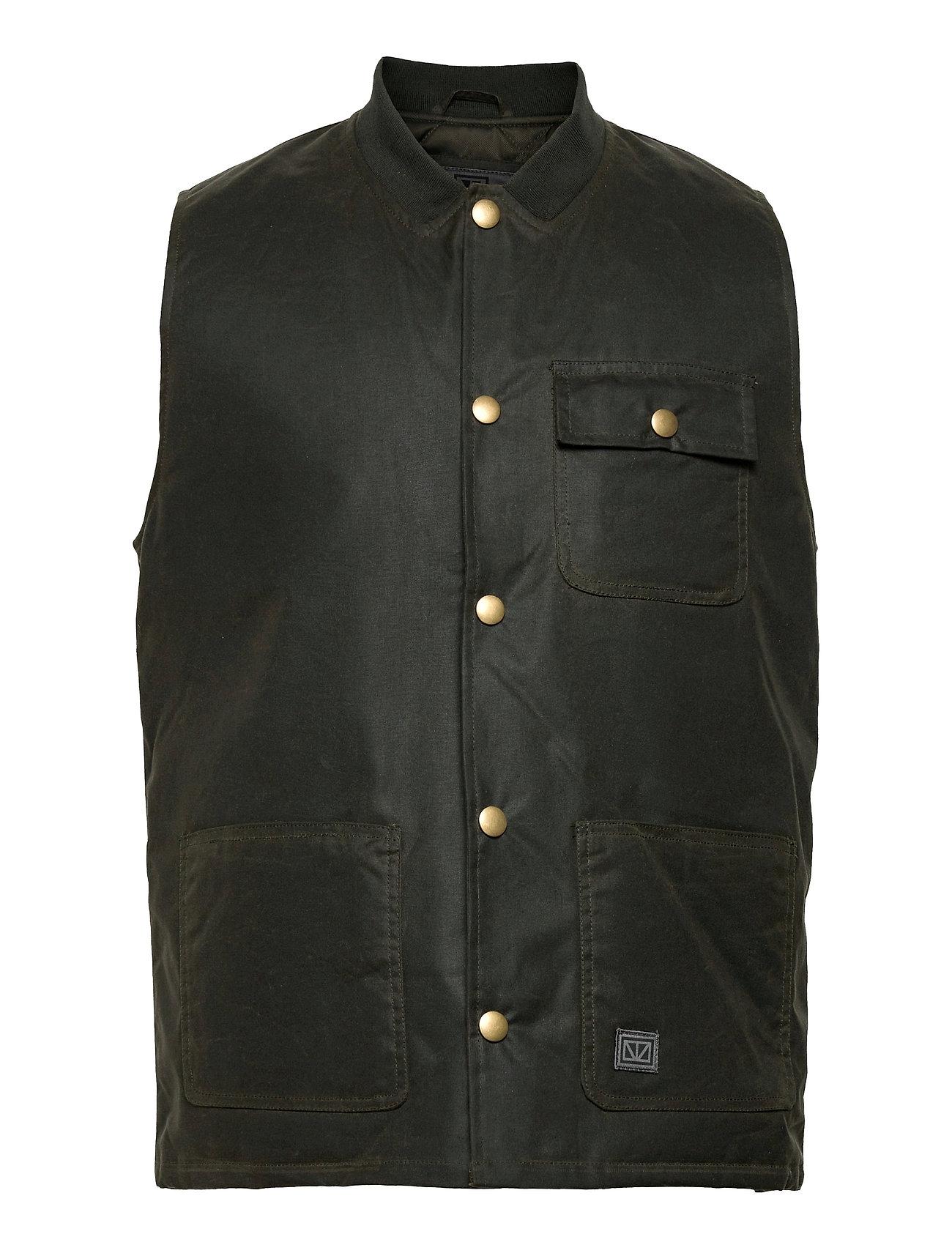 Rod Vest Sort Brixtol Textiles