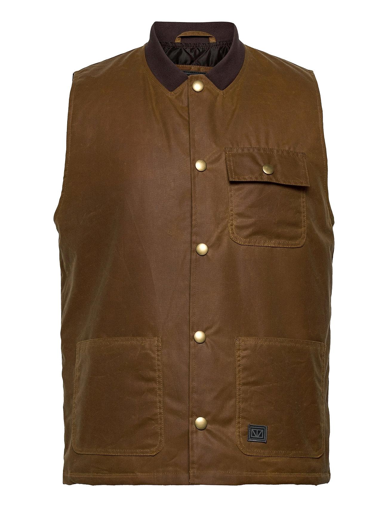 Rod Vest Brun Brixtol Textiles