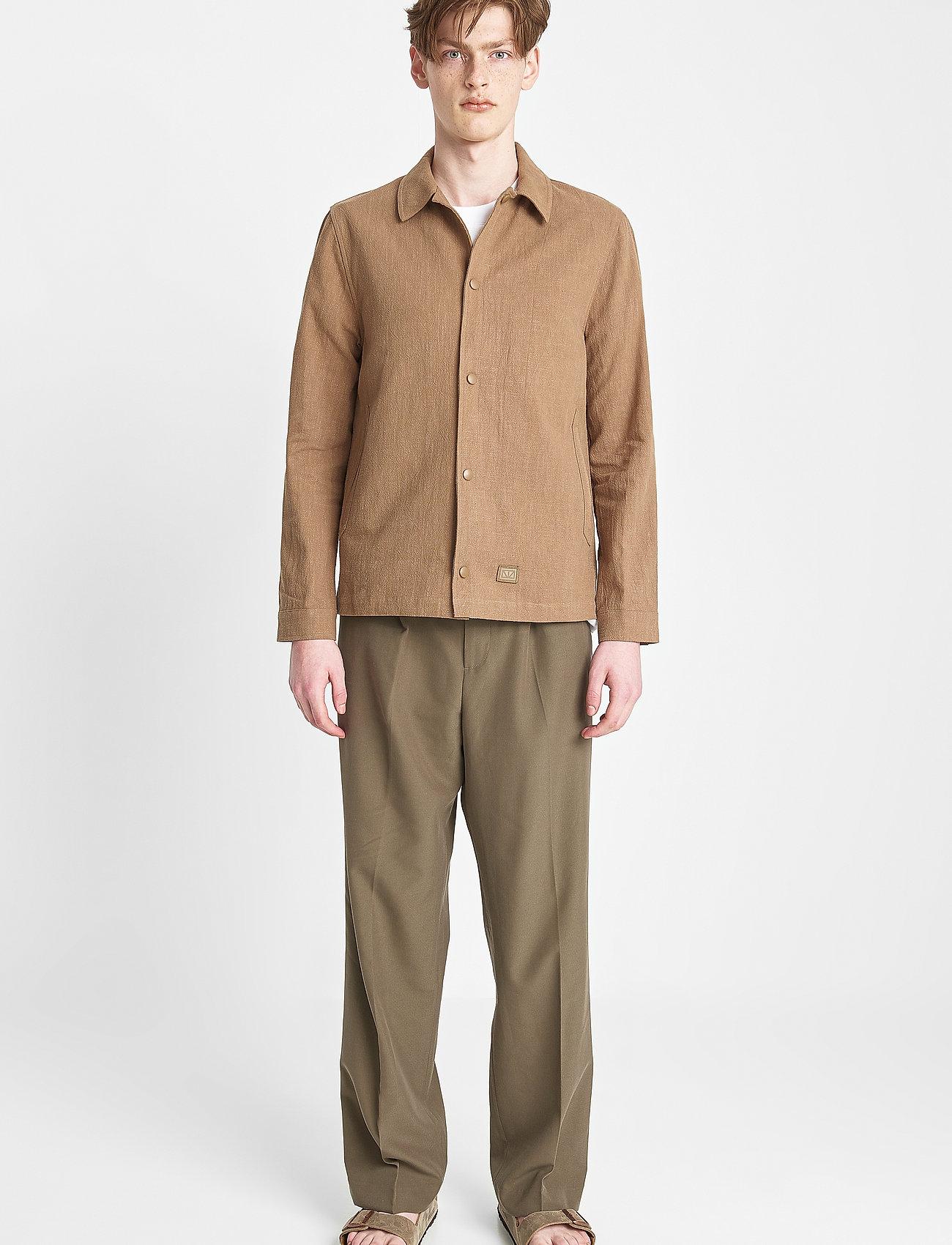 Brixtol Textiles - Trent - windjassen - taupe - 0