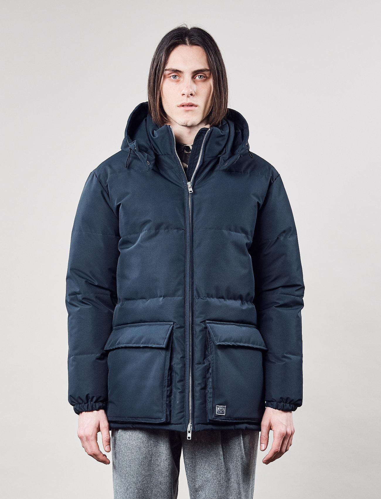 Brixtol Textiles - Bez - kurtki puchowe - dark navy - 0