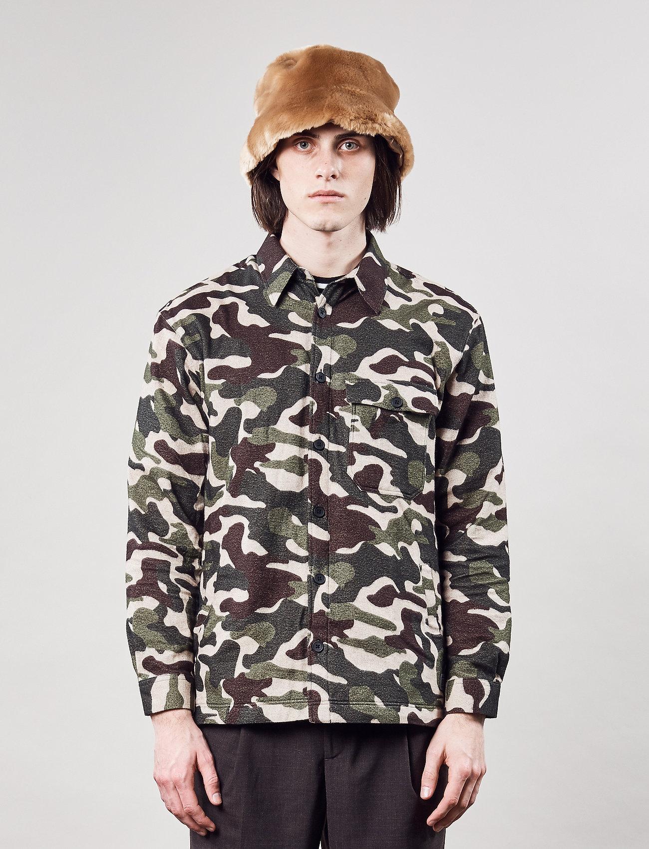 Brixtol Textiles - Frank - overshirts - bt camo - 0