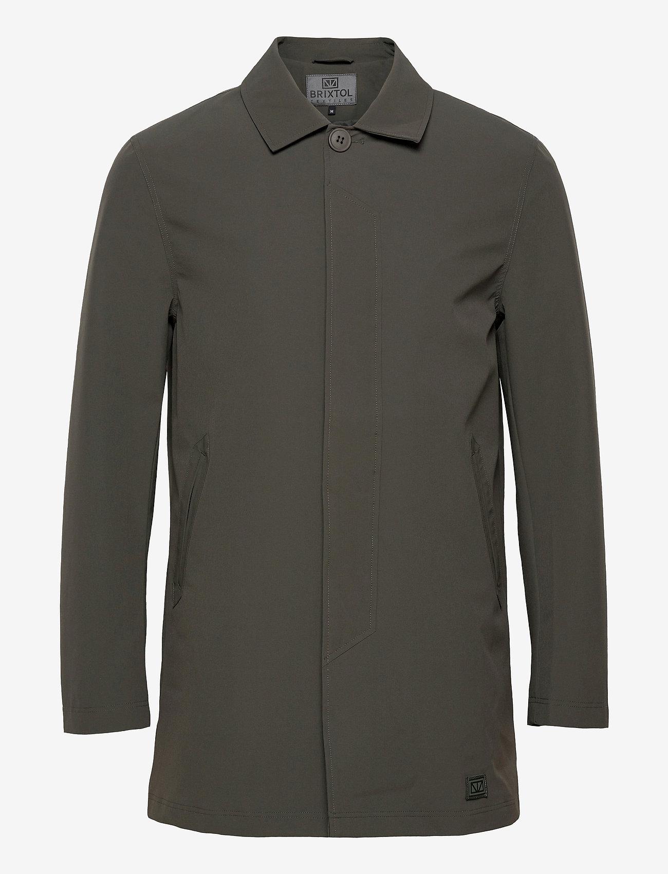 Brixtol Textiles - T-Coat Stretch - dunne mantels - olive - 1