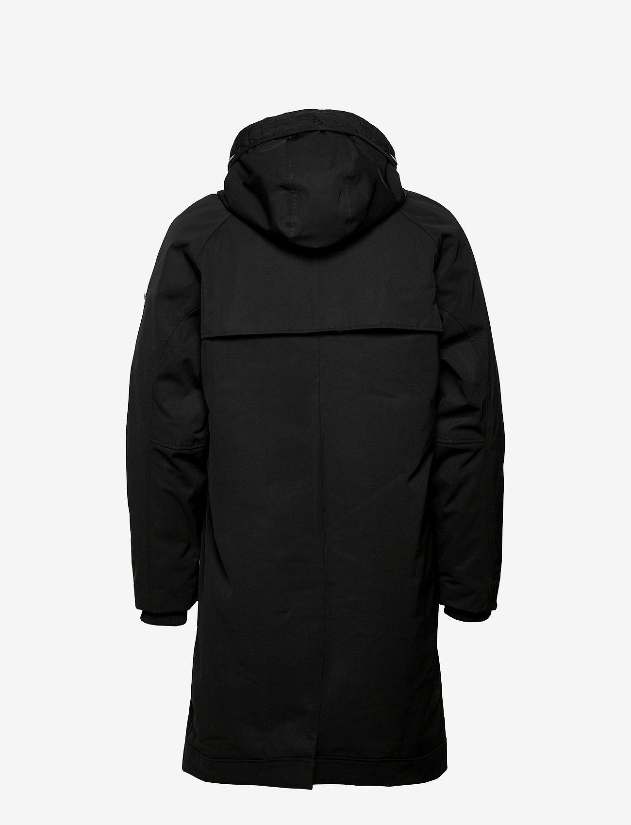 Brixtol Textiles - Livingstone - parka's - black - 1