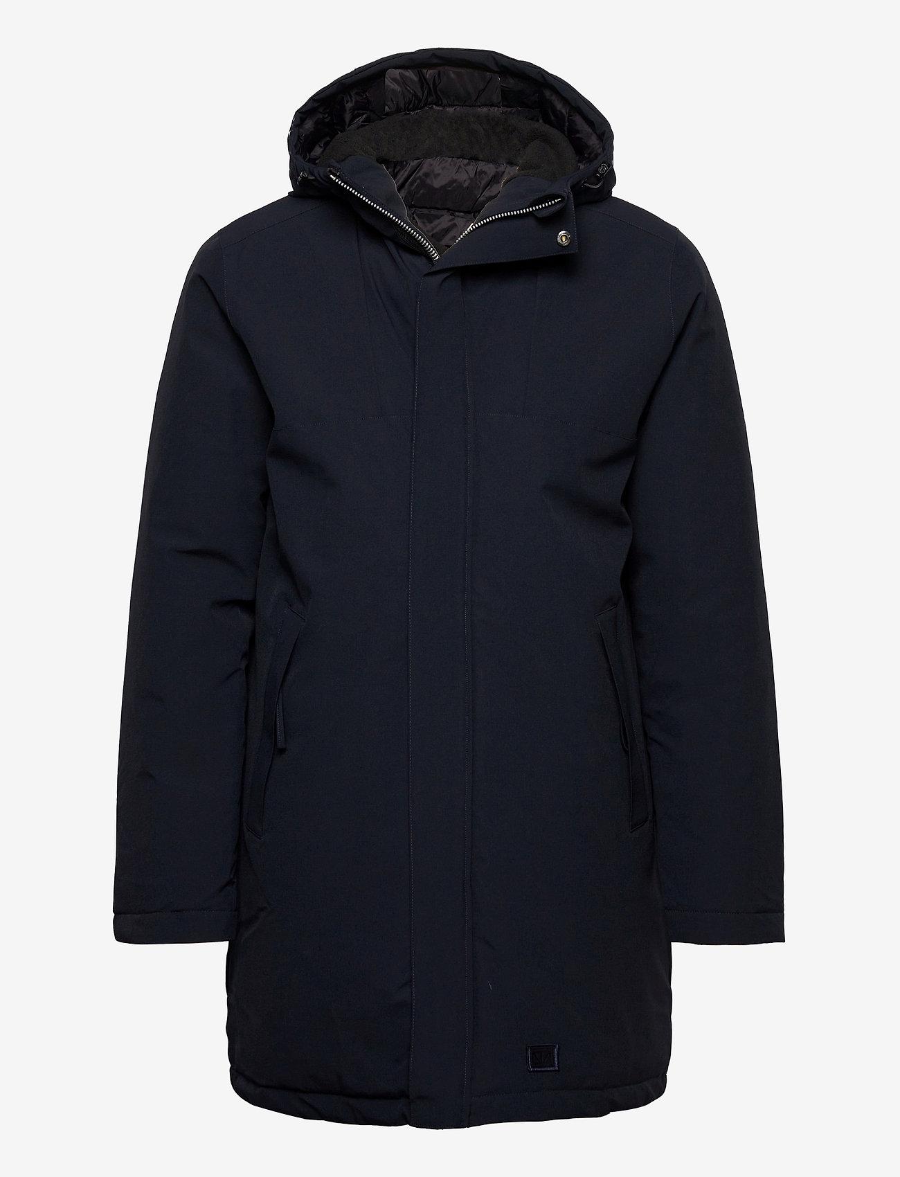 Brixtol Textiles - Bryson - parka's - carbon navy - 0
