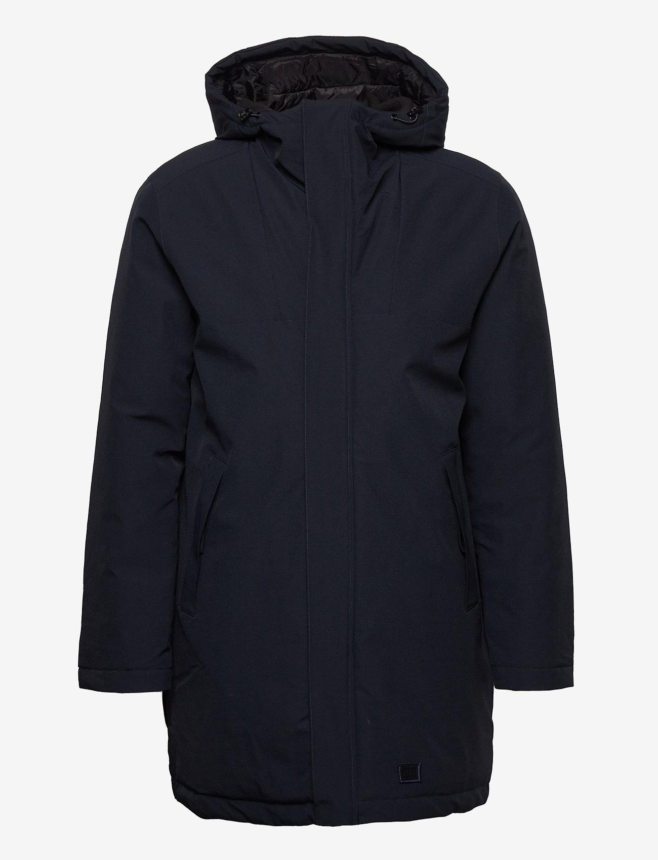 Brixtol Textiles - Bryson - parka's - carbon navy - 1