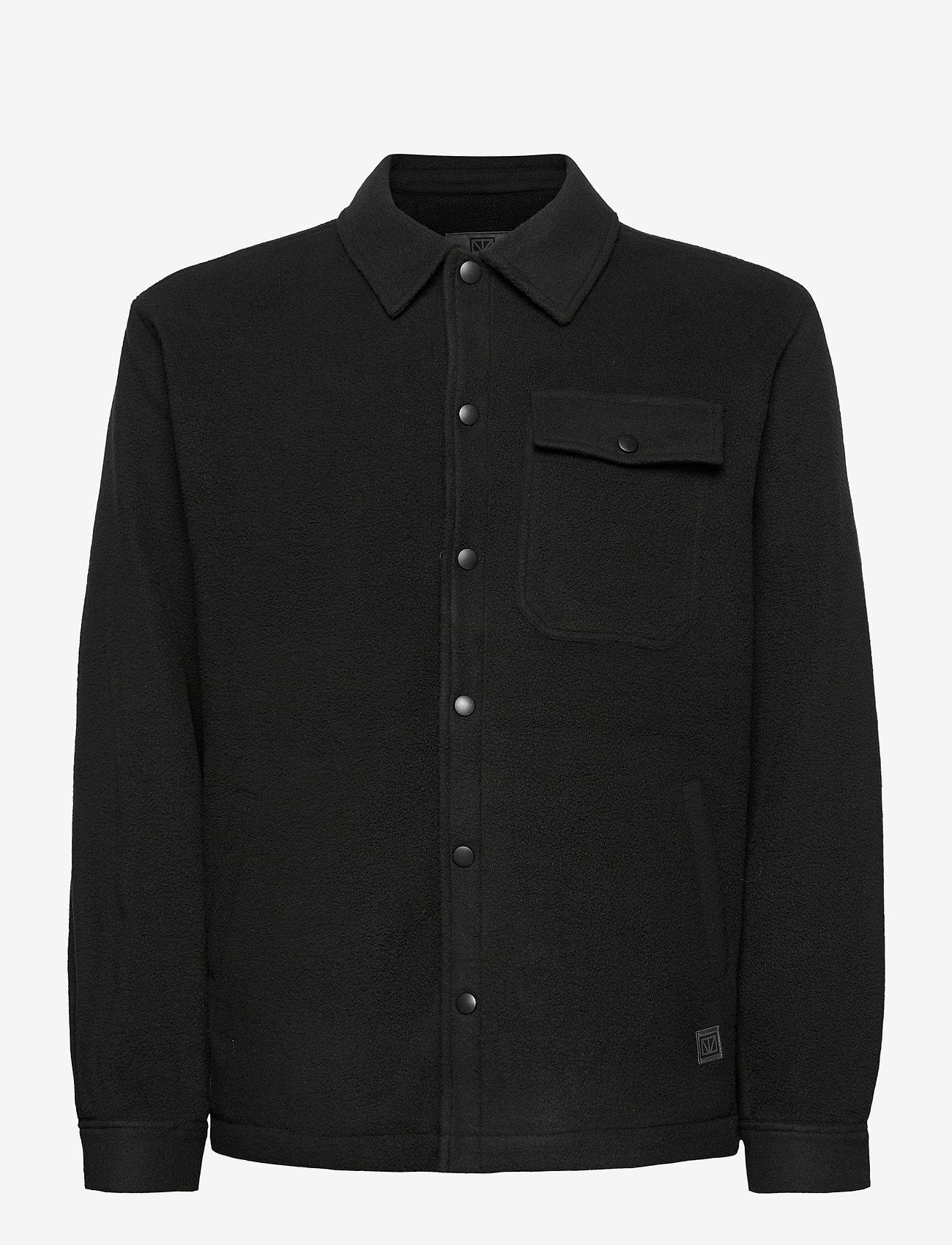 Brixtol Textiles - Frank Fleece - kleding - black - 1