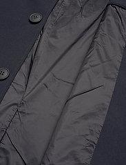 Brixtol Textiles - T-Coat Stretch - dunne mantels - carbon navy - 8