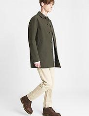 Brixtol Textiles - T-Coat Stretch - dunne mantels - olive - 3
