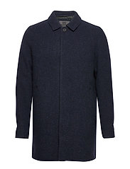 T-Coat Wool - NAVY