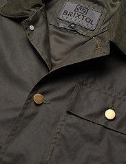 Brixtol Textiles - Will Wax - windjassen - olive - 7