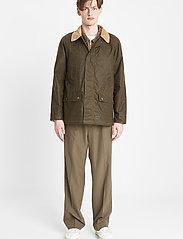 Brixtol Textiles - Buddy - kurtki-wiosenne - light olive - 0