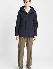 Brixtol Textiles - Sean - parka's - carbon navy - 0