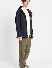 Brixtol Textiles - Sean - parka's - carbon navy - 3