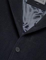 Brixtol Textiles - Union - wollen mantels - navy - 3