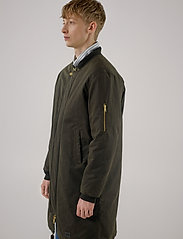 Brixtol Textiles - D.W Bomber - bomber jakke - olive - 0