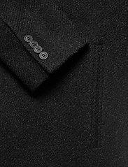 Brixtol Textiles - Ian - wollen mantels - black melange - 8
